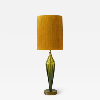 Camer Glass Large Camer Murano Table Lamp