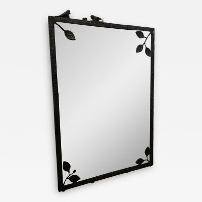 Carole Gratale Design Giacometti inspired wall mirror