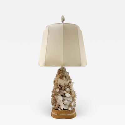 Carole Stupell Ltd Carole Stupell Extraordinary Quartz Crystal Table Lamp 1950s