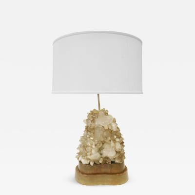 Carole Stupell Ltd Carole Stupell Iconic Lamp with Quartz Crystals 1940s