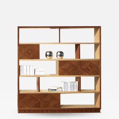 Carpanelli Contemporary Bookcases Cartesio Bookcase