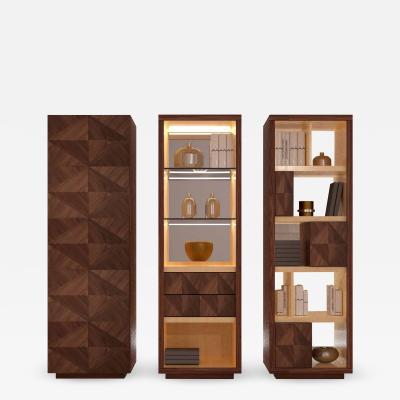 Carpanelli Contemporary Bookcases Desyo Cabinet