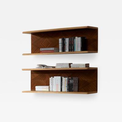 Carpanelli Contemporary Bookcases Desyo Suspended Element