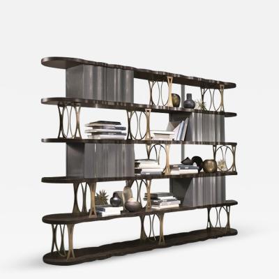 Carpanelli Contemporary Bookcases Mistral Bookcase