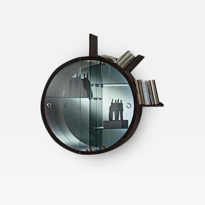 Carpanelli Contemporary Bookcases Oblo Mistral Glass