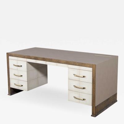 Carrocel Interiors Custom Modern Executive Desk
