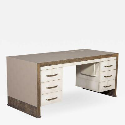 Carrocel Interiors Custom Modern Executive Desk