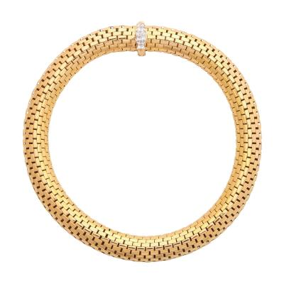 Cartier 18K Gold Diamond Necklace by Cartier