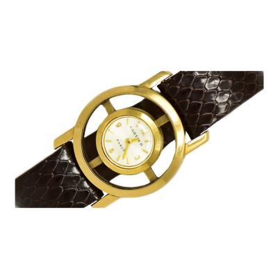 Cartier 1940s Cartier Helm Jaeger LeCoultre Sector Dial Wristwatch