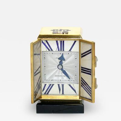 Cartier ART DECO ALTAR TRYPTIQUE DESK CLOCK CARTIER CIRCA 1928