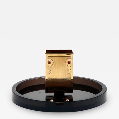 Cartier ART DECO SMOKER S SET WITH CHINESE MOTIFS