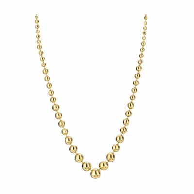 Cartier CARTIER 18K YELLOW GOLD HIGH POLISHED BALL BEAD NECKLACE