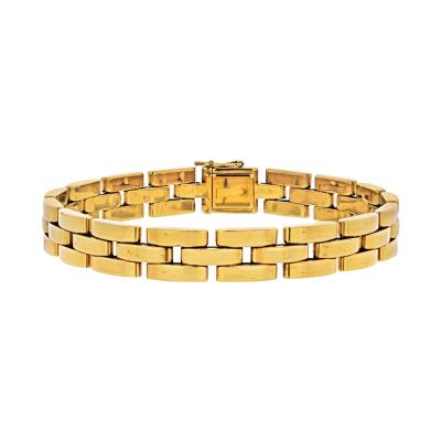 Cartier CARTIER 18K YELLOW GOLD MAILLON PANTHERE BRACELET