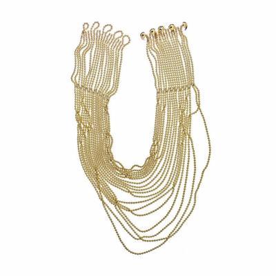 Cartier CARTIER DRAPERIE 18K YELLOW GOLD DE DECOLLETE BEAD CHAIN NECKLACE