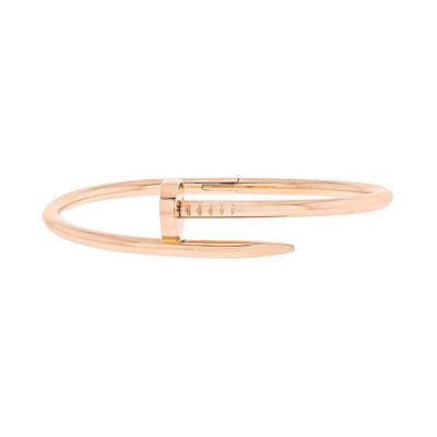 Cartier CARTIER JUSTE UN CLOU 18K ROSE GOLD SIZE 17 BRACELET