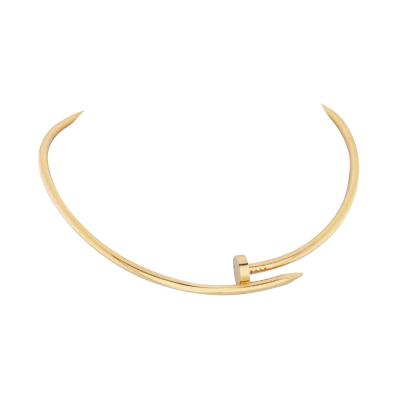 Cartier CARTIER JUSTE UN CLOU 18K YELLOW GOLD 33CM NECKLACE