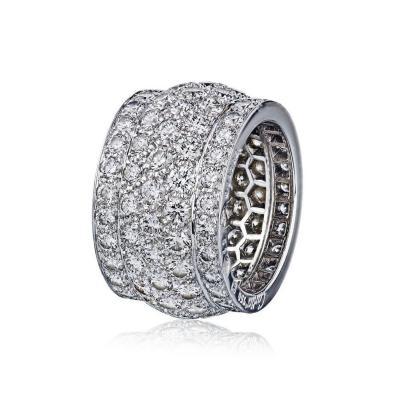 Cartier CARTIER NIGERIA 18K WHITE GOLD DIAMOND 6 00CTTW RING