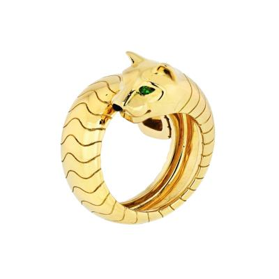 Cartier CARTIER PANTHERE 18K YELLOW GOLD LAKARDA RING