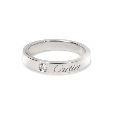 Cartier Carter C de Cartier Unisex Diamond Wedding Band