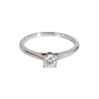 Cartier Cartier 1895 Diamond Engagement Ring in Platinum Platinum E VVS2 0 27 CTW