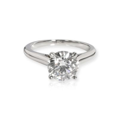 Cartier Cartier 1895 Solitaire Diamond Engagement Ring in Platinum E VVS2 1 78 CTW
