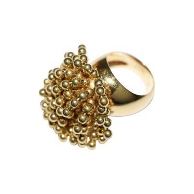 Cartier Cartier 18K YG Nouvelle Vague Dangling Beads Ring