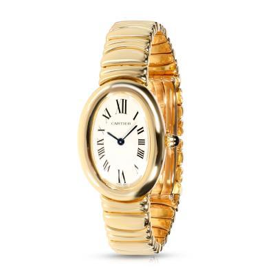 Cartier Cartier Baignoire 1954 Womens Watch in 18kt Yellow Gold