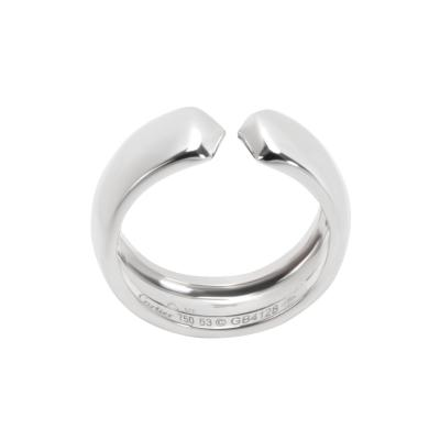 Cartier Cartier C Profile Ring in 18K White Gold