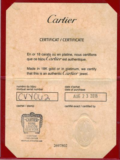 Cartier Cartier Diamants L gers Bracelet Diamond Bracelet