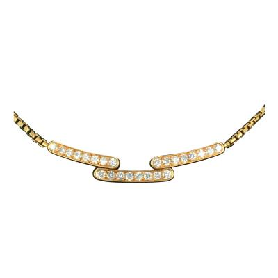 Cartier Cartier Diamond and Gold Necklace