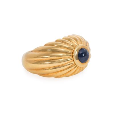 Cartier Cartier Estate Gold and Cabochon Sapphire Bomb Ring