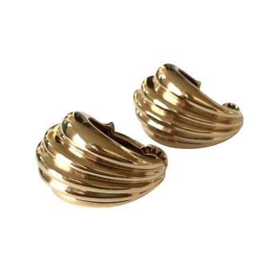 Cartier Cartier Fluted Hoop Earrings