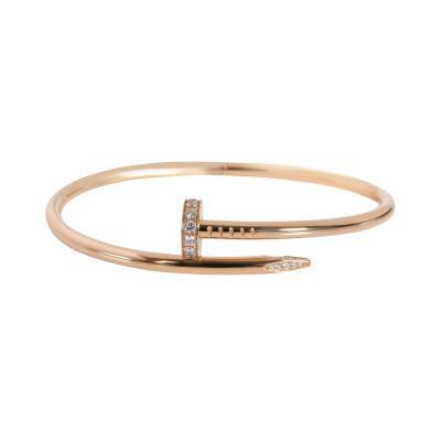 Cartier Cartier Juste un Clou Diamond Bracelet in 18K Pink Gold 0 59 CTW