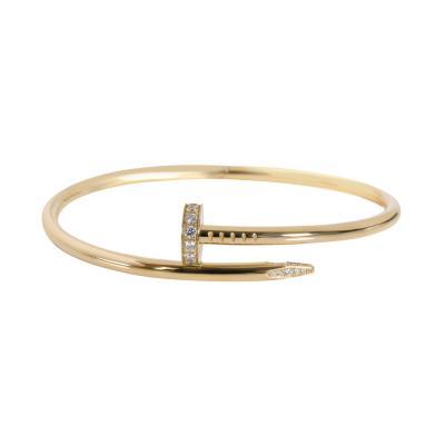 Cartier Cartier Juste un Clou Diamond Bracelet in 18K Yellow Gold 0 59 CTW
