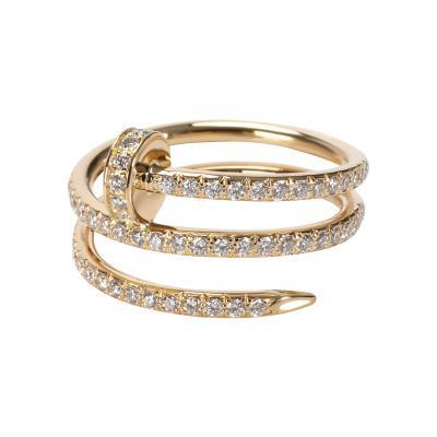 Cartier Cartier Juste un Clou Diamond Ring in 18K Yellow Gold 0 59 CTW