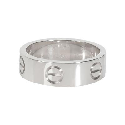 Cartier Cartier LOVE Band in 18K White Gold