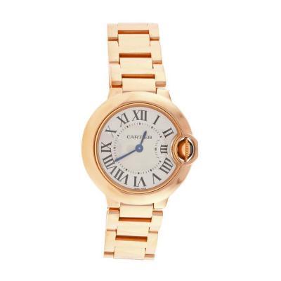 Cartier Cartier Ladies Ballon Bleu Pink Gold Quartz Wristwatch