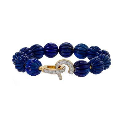 Cartier Cartier Lapis Lazuli and Diamond Bracelet