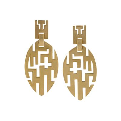 Cartier Cartier Late 20th Century Gold Earrings