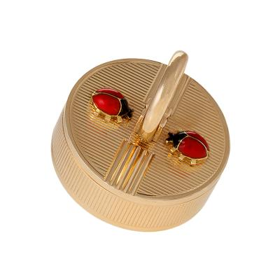 Cartier Cartier London Mid 20th Century Gold and Enamel Pillbox