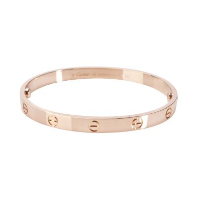 Cartier Cartier Love Bracelet in 18K Pink Gold