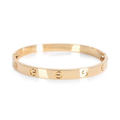 Cartier Cartier Love Bracelet in 18K Yellow Gold Size 18