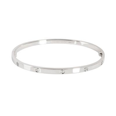 Cartier Cartier Love Diamond Bracelet in 18K White Gold 0 21 CTW