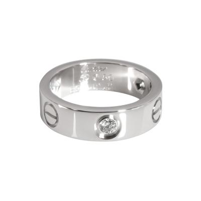 Cartier Cartier Love Diamond Ring in 18K White Gold 0 22 CTW