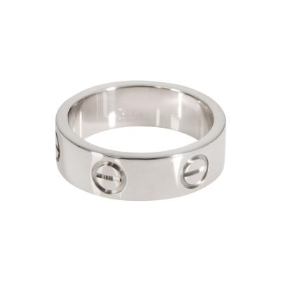 Cartier Cartier Love Ring in 18K White Gold