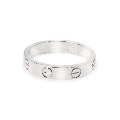 Cartier Cartier Love Ring in 18K White Gold Unisex