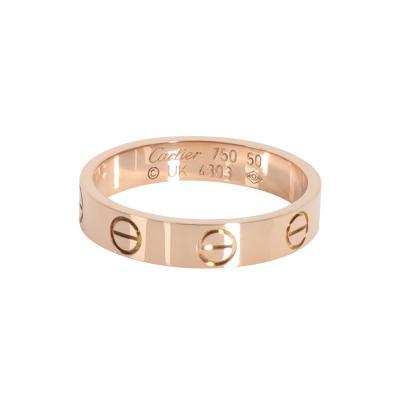 Cartier Cartier Love Wedding Band in 18K Pink Gold