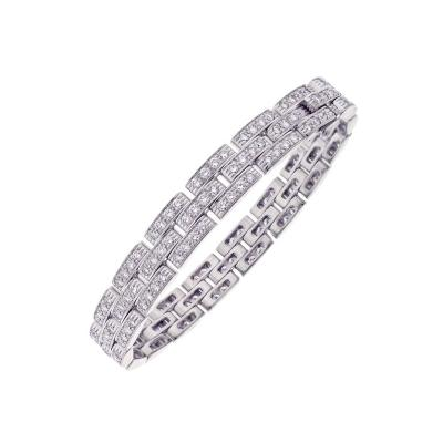 Cartier Cartier Maillon Panthe re Diamond Gold Bracelet