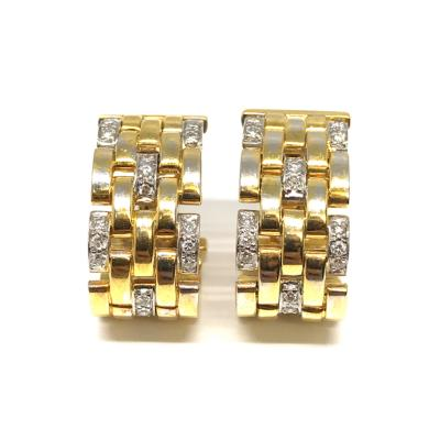 Cartier Cartier Maillon Panthere Clip On Earrings