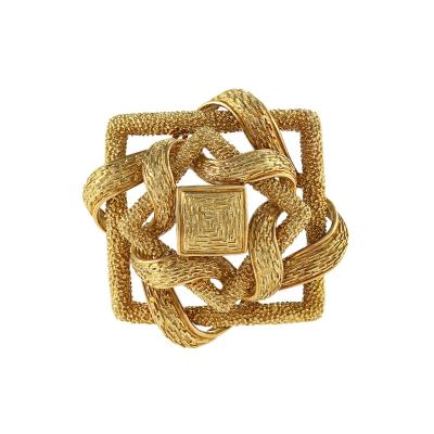Cartier Cartier Mid 20th Century Gold Brooch